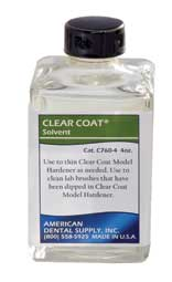 CLEAR COAT KIT SOLVENT REFILL- 4 OZ